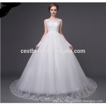 Vestido de novia de lujo vestido de novia vestidos de novia formal de la boda