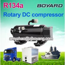 Marine Klimaanlage mit Sonnenschein betrieben Boyard hermetischen rotierenden horizontalen Kompressor 24V Kompressor