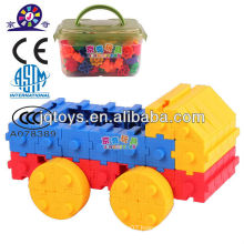 JQ building car plastic toys