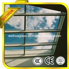 4-19mm Clear/Colored Flat/Curved Tempered/Laminated Glass Awnings Canopies with CE / ISO9001 / CCC