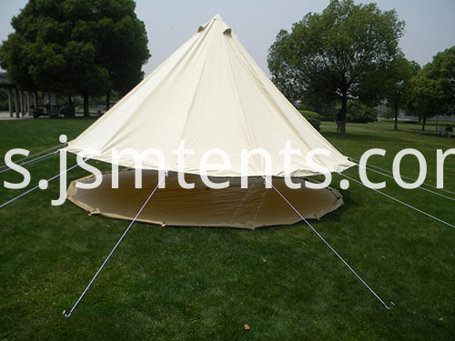 Canvas Bell Tents with Stove