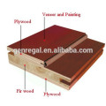 CE Approved Motel Use Veneer Faced Wooden Doors