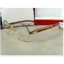 Деревянные рамки / Мужские солнцезащитные очки / Знаменитые бренды Солнцезащитные очки (52-22)
