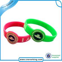 Выдвиженческий wristband силикона для childern