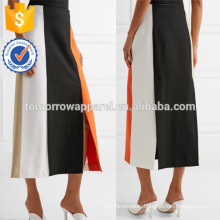 New Fashion Color-block Stretch-knit Midi Summer Mini Daily Skirt DEM/DOM Manufacture Wholesale Fashion Women Apparel (TA5089S)