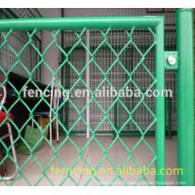 PVC/PE coated diamond house Fence for sale(Factory)