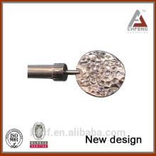 metal curtain rail/aluminum curtain rail/flexible curtain rail 3/4'' diameter drapery