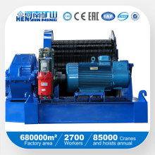Professional Manufacturer High Speed Electric Rope Winch