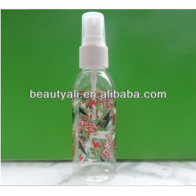 plastic perfume sprayer PET bottle