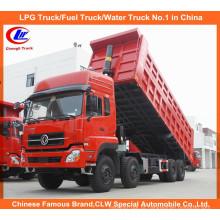 12 Rodas Caminhão basculante Dongfeng Caminhão basculante Dongfeng com motor Cummins