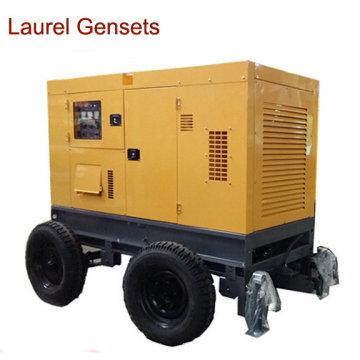 Cummins Diesel Generator Set Portable 20kVA refrigerado a água