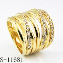 Fashion18k Позолоченные Ювелирные Изделия Леди Кольцо (С-11681)