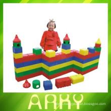 High Quality Fun Kids Blocks, Colorful DIY Building Block, Kids Educational Plastic Blocks for baby