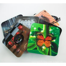 Promotional Gift 3D Effect Lenticular Printed Cup Mat