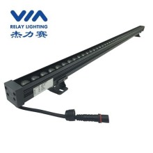 slim wall washer light DMX512 RGBW 18W