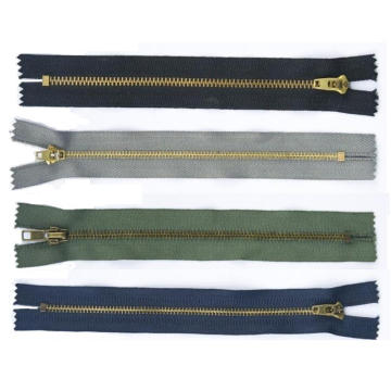 Brass Zipper (DTZ-011)