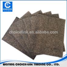 Composto de malha de fibra de vidro malha de borracha modificado feltro de telhado de asfalto