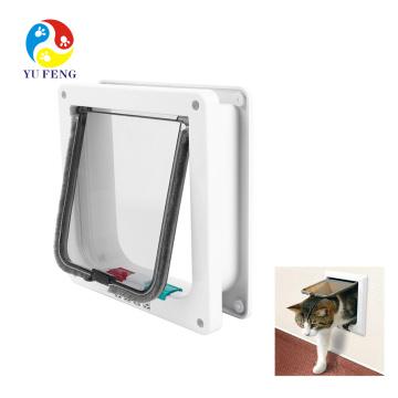 Kit de porta de animal de estimação automático para gatos e cães pequenos Kit de porta de animal de estimação automático para gatos e cães pequenos