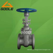 Válvula de compuerta de brida de acero fundido 150lb (GAZ40W)