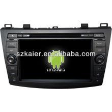 reprodutor de DVD do carro para o sistema Android Mazda3