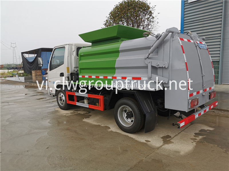 Waste Collect Truck 3