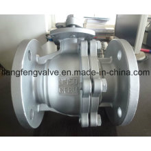 Flange End Ball Valve with Stainless Steel