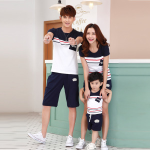 2018 Summer new fashion family T shirt