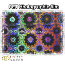 Embossed Laser Holographic Film for printing logo