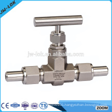 Stainless steel air condition precision needle valve