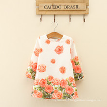 Meninas floral inverno manga longa projeta recém-chegados para as mulheres na moda adorável roupas baby girl apparel alibaba chinês