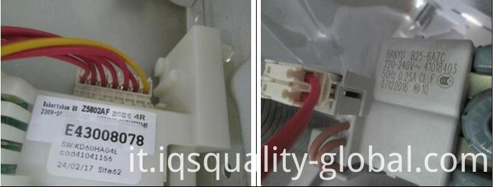 quality control for household appliances