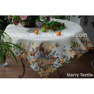 Easter Tablecloth of Rabbit Design Fh-21