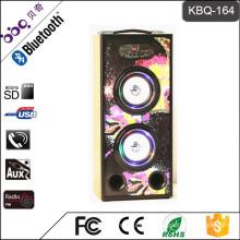 Support U disk/TF/Line-in/FM Radio wireless smart led lamp craft audio speaker