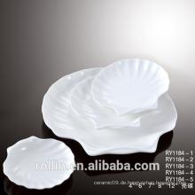 Seashell-Geschirr für Restaurant und Hotel