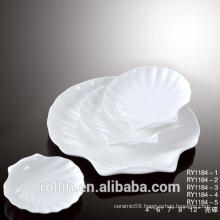 seashell dinnerware sets for restaurant and hotel