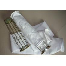 Saco de filtro não tecido da poeira do poliéster de feltro da agulha para o coletor de poeira