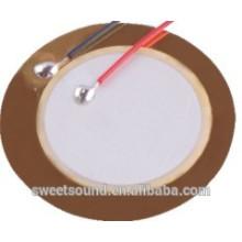 Pzt piezoelétrico cerâmico 27mm 4.5khz zumbador de cerâmica piezoelétrico