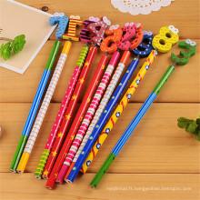 crayon de fantaisie en bois