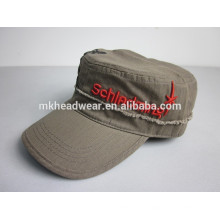 chinese high quality 3D embroidery military cap