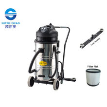 2000W / 3000W Stainless Steel Dry Vacuum Cleaner with Squeegee (LC80-2W)