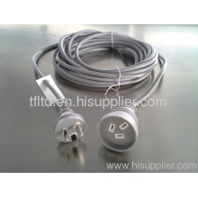 Extension Cords In Grey Color For Australia