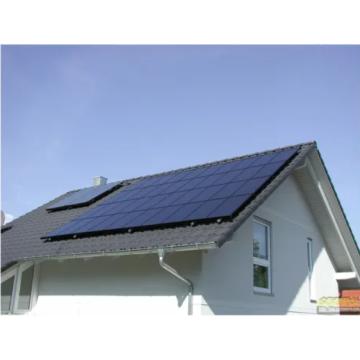 Suporte para painel solar com trilhos de alumínio