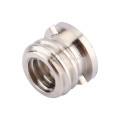 Convert Screw Adapter Female 1/4 to Male 3/8 for Tripod Monopod Ball head Camera DSLR Accessories