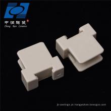 Peças personalizadas de esteatita de alumina cerâmica industrial