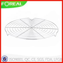 12,5 polegadas redonda metálica, grade de refrigeração