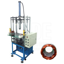 Economic type induction motor stator coil forming machine