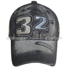 Lavado de descarga de impresión de bordado sarga Gorra de béisbol de deporte (TRB02755)