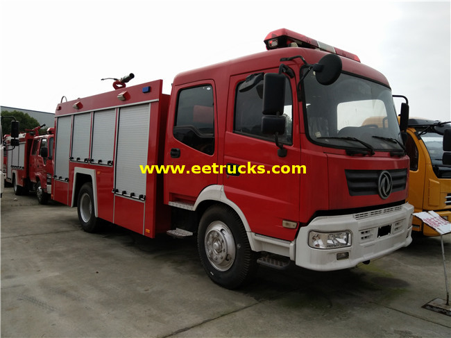 6000 Litres Fire Fighting Water Trucks