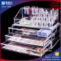 Acrylic Clear Makeup Organizer with Three Drawers