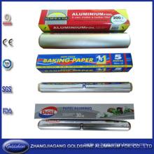 Rollo de aluminio disponible de la hoja de la categoría alimenticia del SGS
